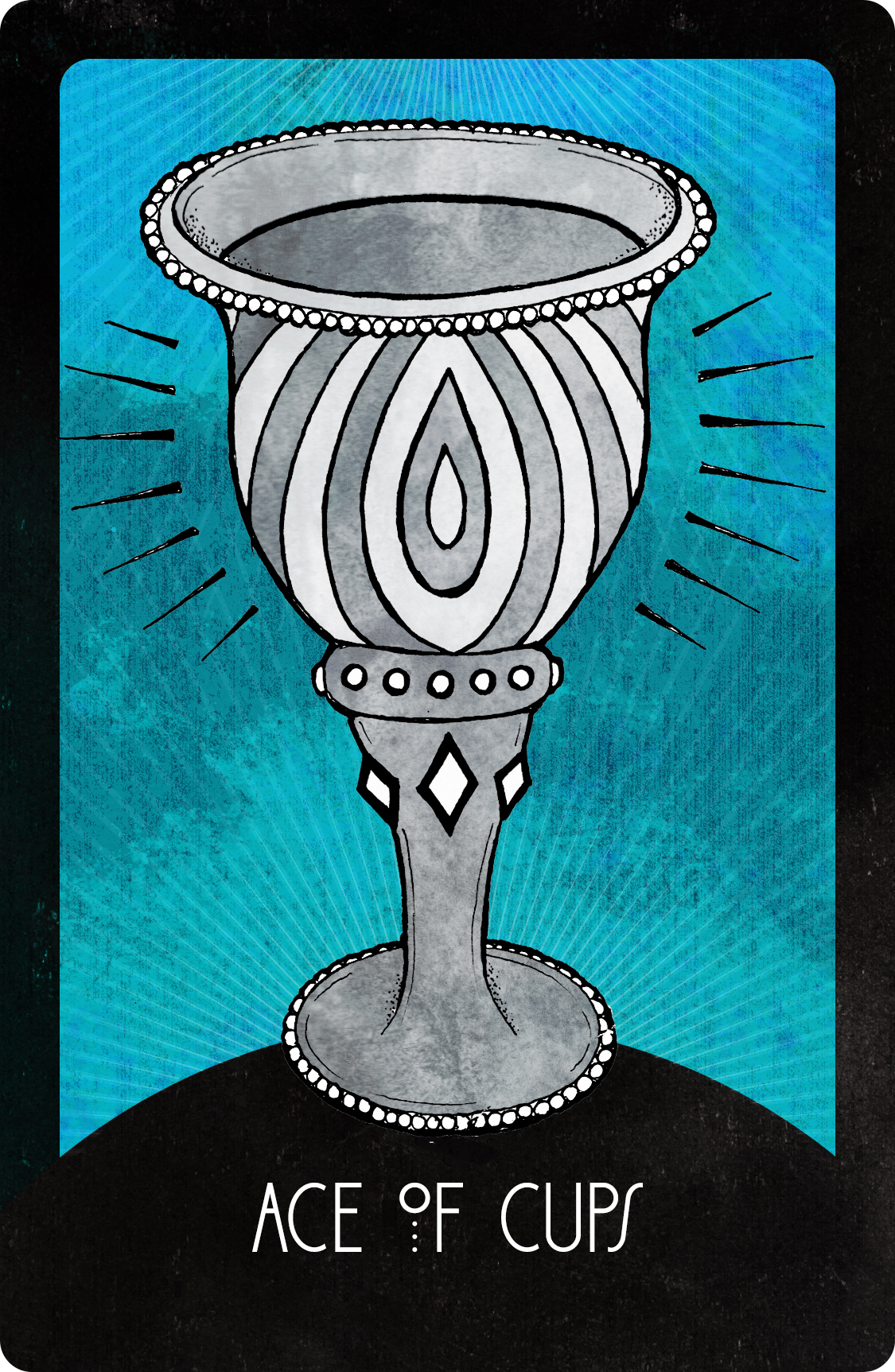 Inspirational Tarot Ace of Cups