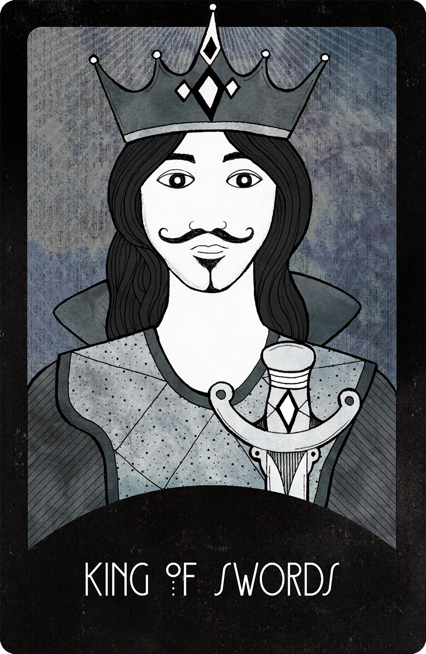 Inspirational Tarot King of Swords