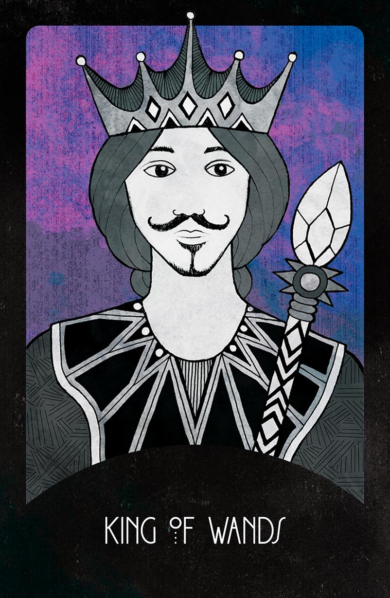 Inspirational Tarot King of Wands