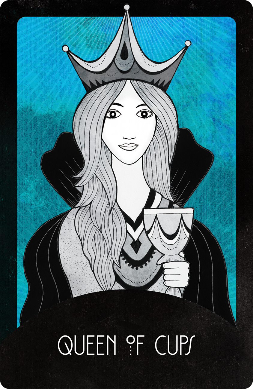 Inspirational Tarot Queen of Cups
