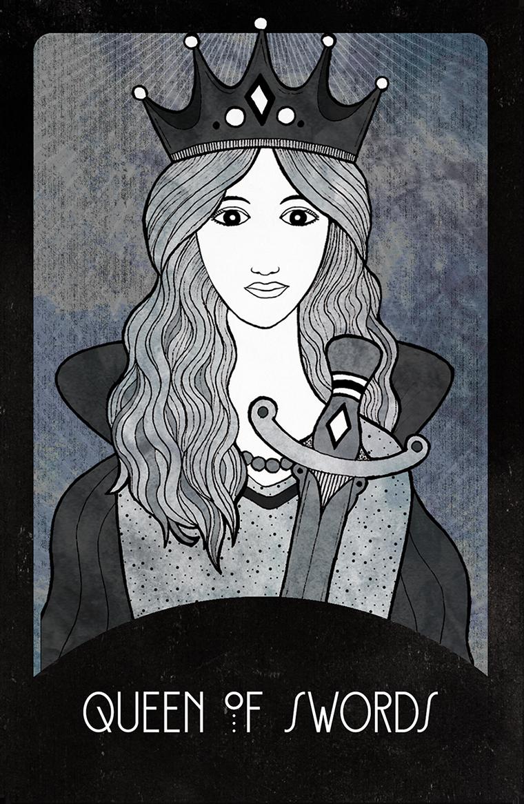 Inspirational Tarot Queen of Swords