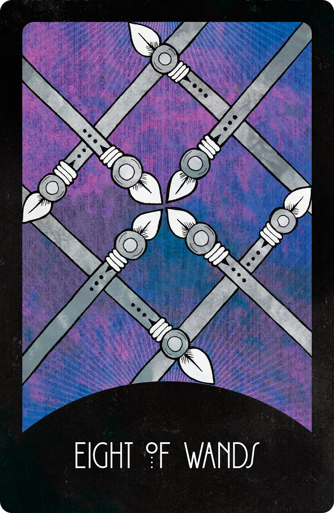 Inspirational Tarot Deck Eight of Wands