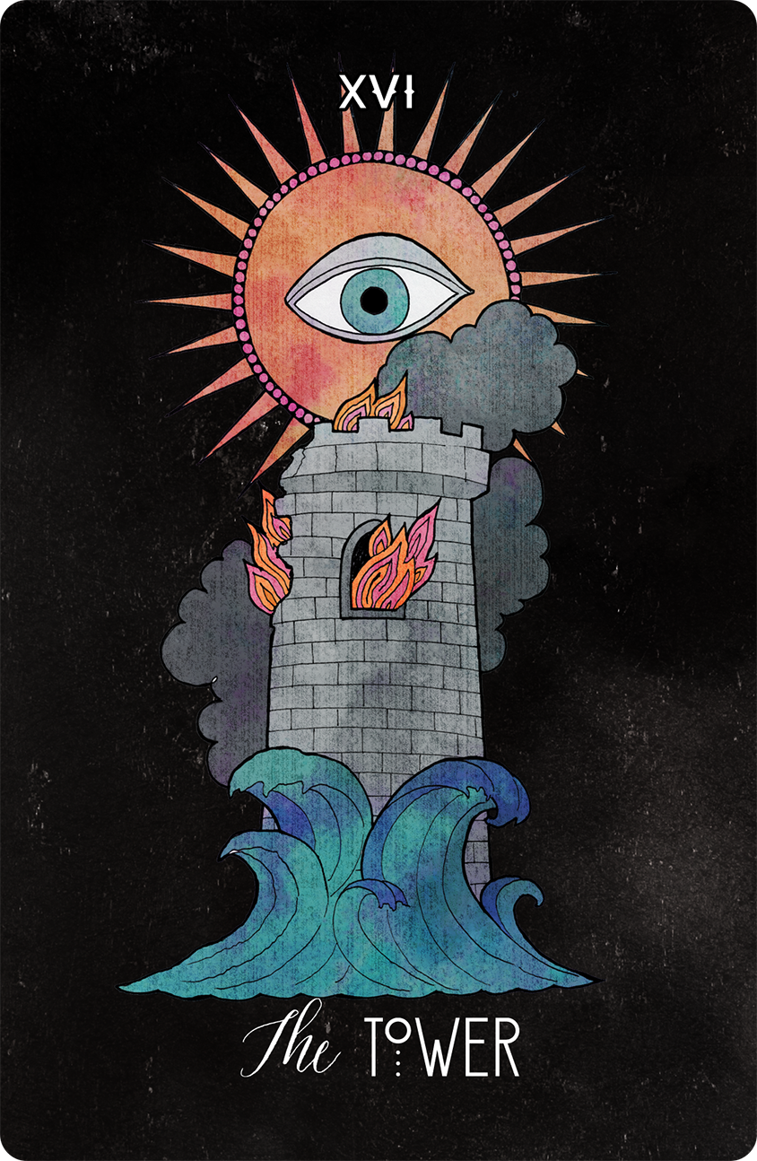 Inspirational Tarot The Tower