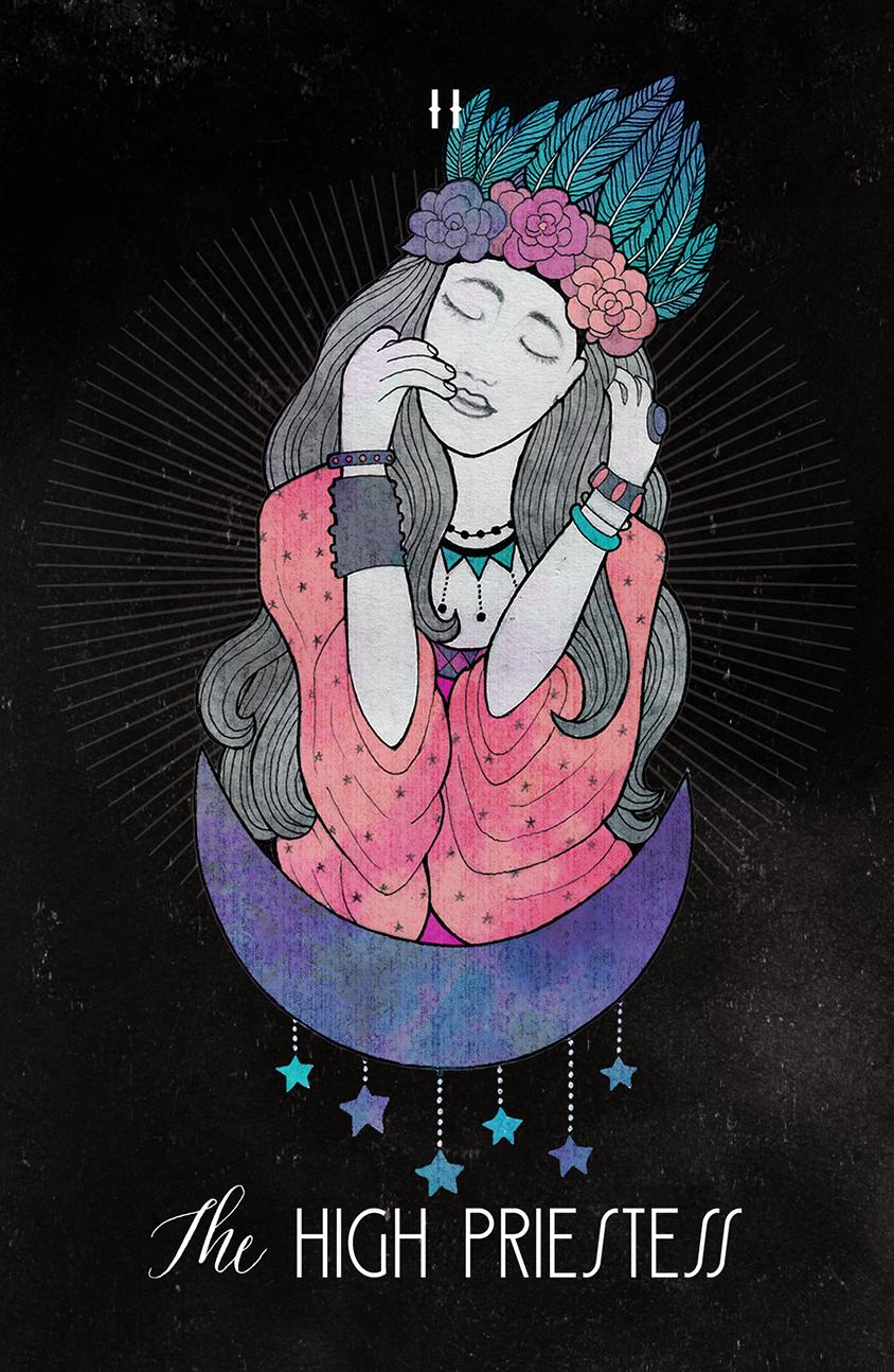 Inspirational Tarot The High Priestess