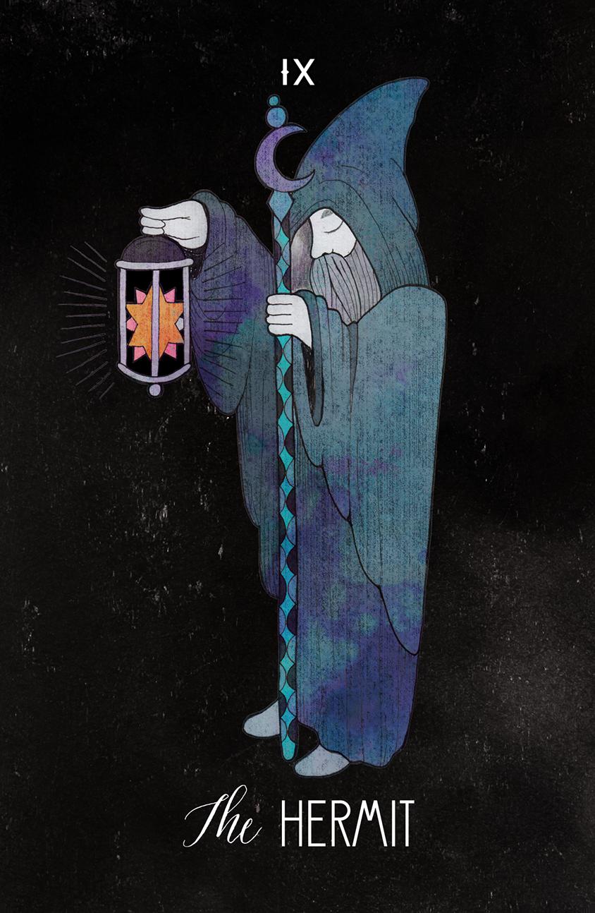 Inspirational Tarot The Hermit