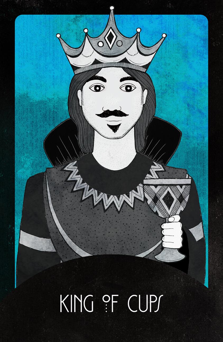 Inspirational Tarot King of Cups