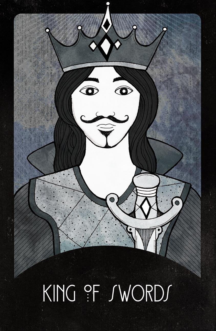 Inspirational Tarot King of Swords