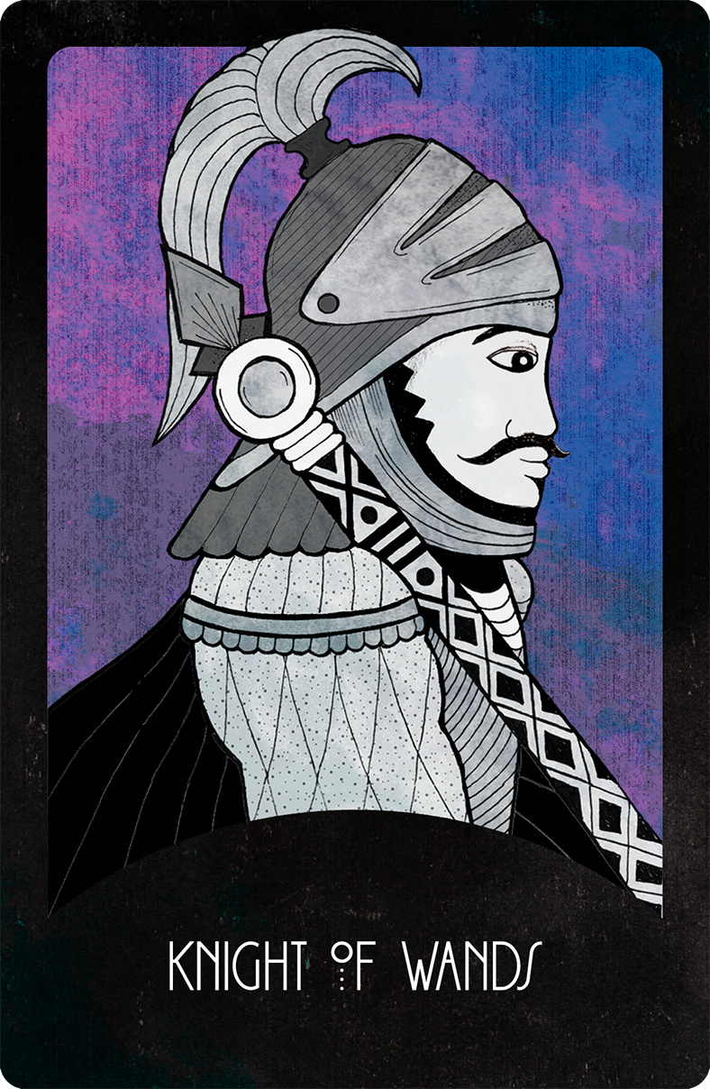 Inspirational Tarot Knight of Wands