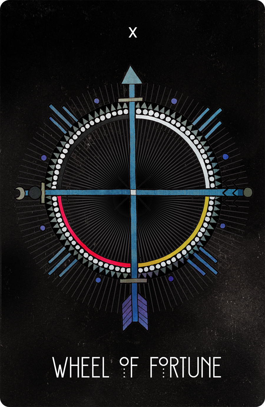 Inspirational Tarot Wheel of Fortune