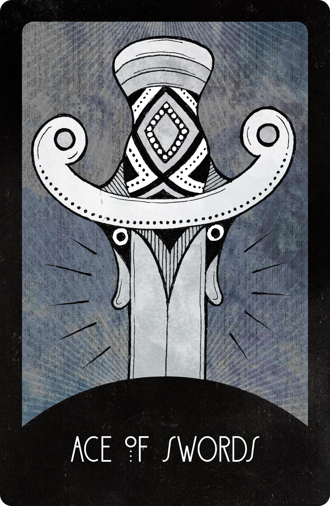 Inspirational Tarot Deck Ace of Swords