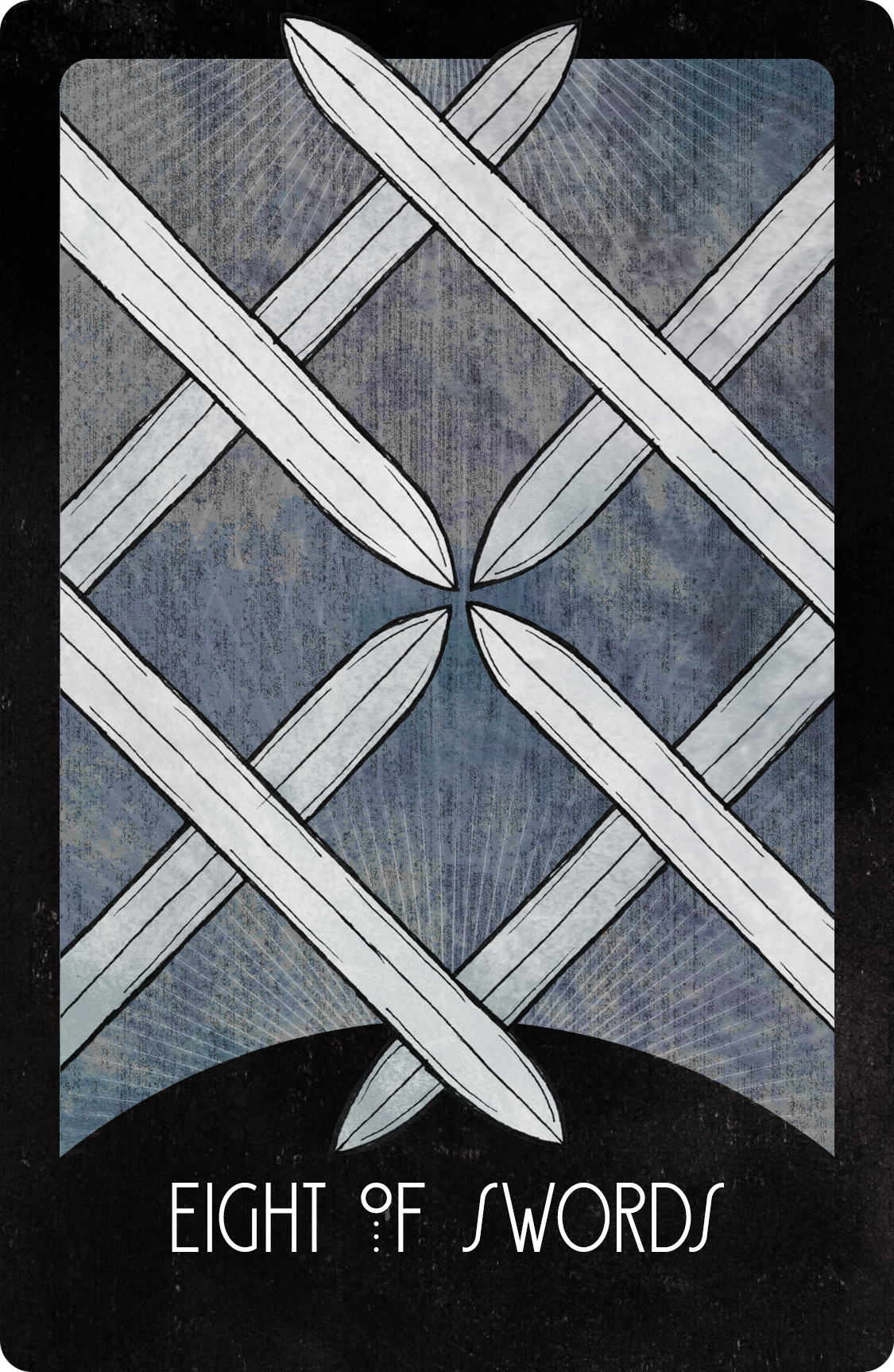 Inspirational Tarot Deck Eight of Swords