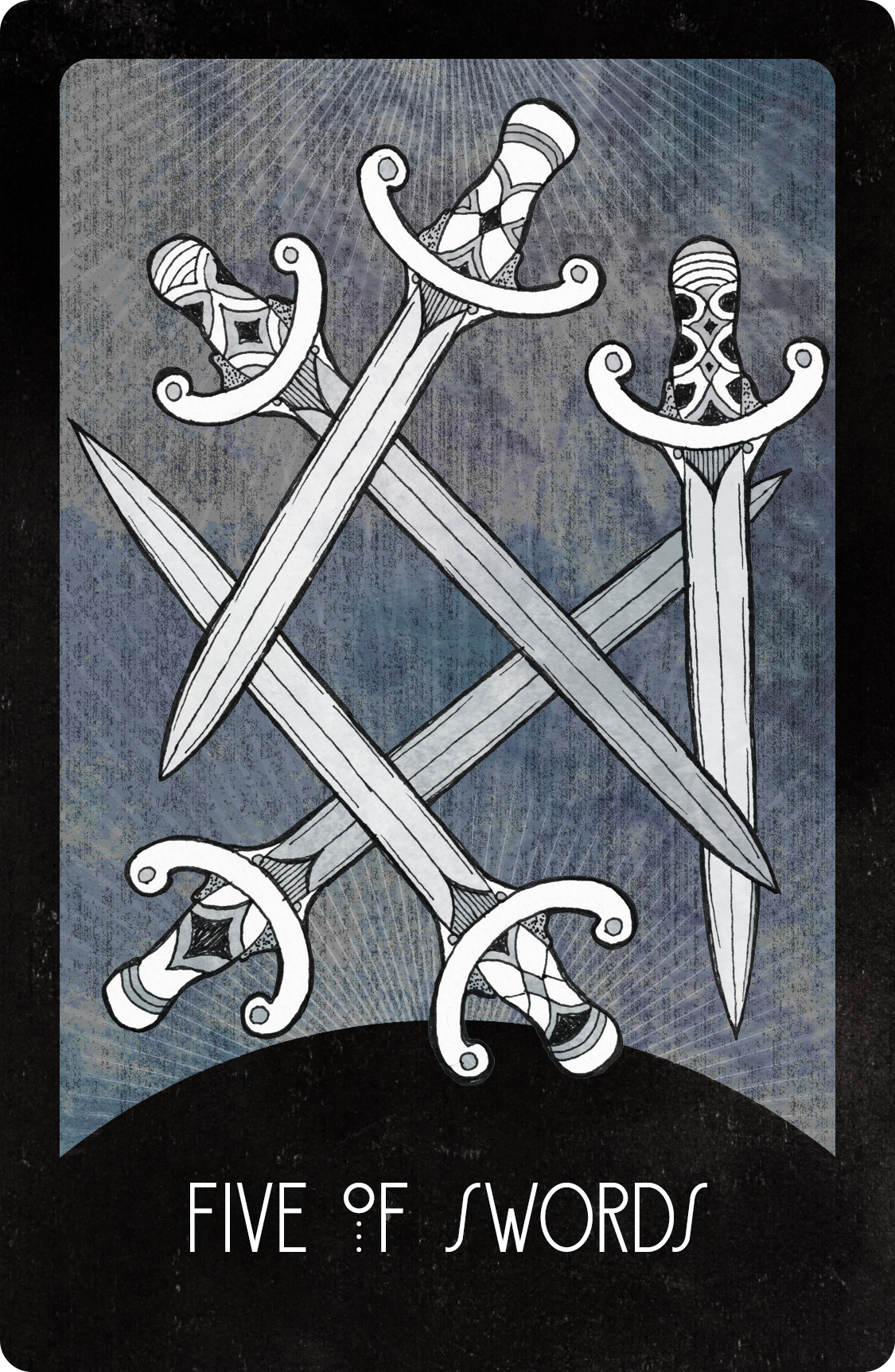 Inspirational Tarot Deck Five of Swords