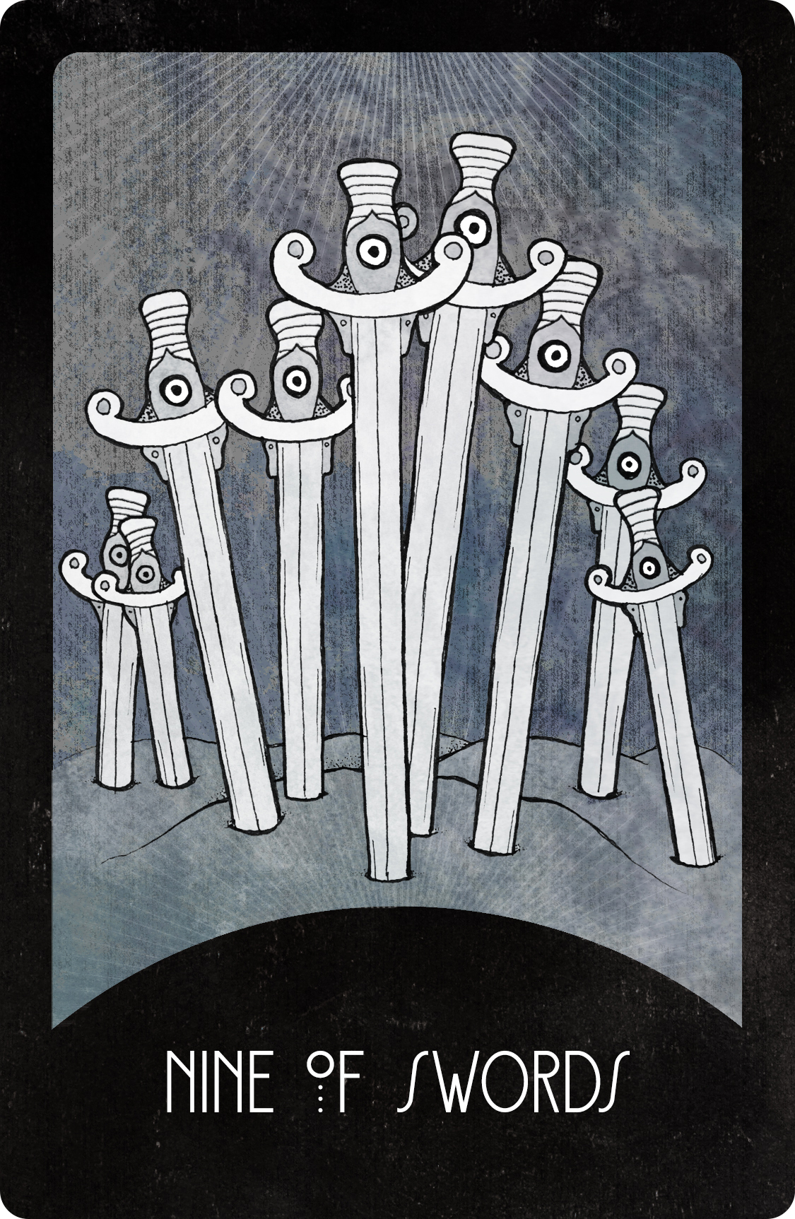 Inspirational Tarot Deck Nine of Swords