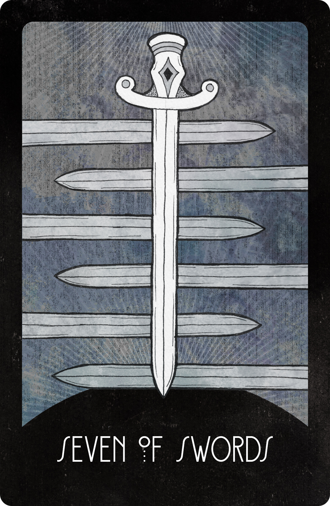Inspirational Tarot Deck Seven of Swords