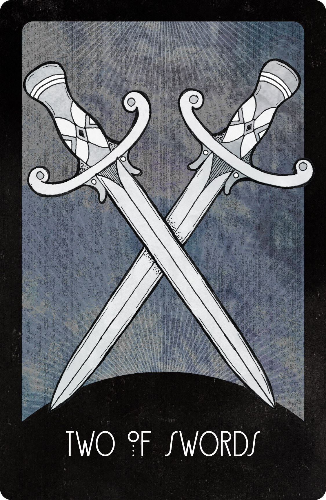 Inspirational Tarot Deck Two of Swords