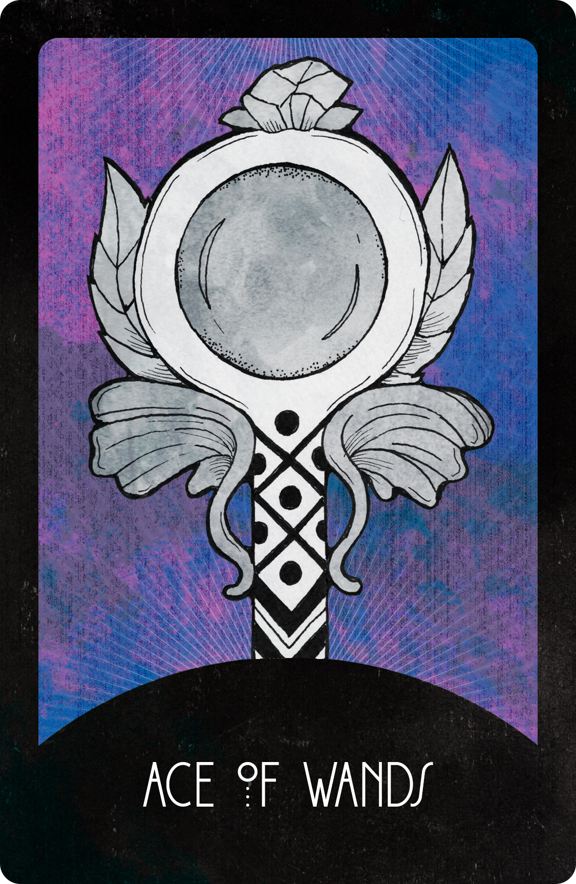 Inspirational Tarot Deck Ace of Wands