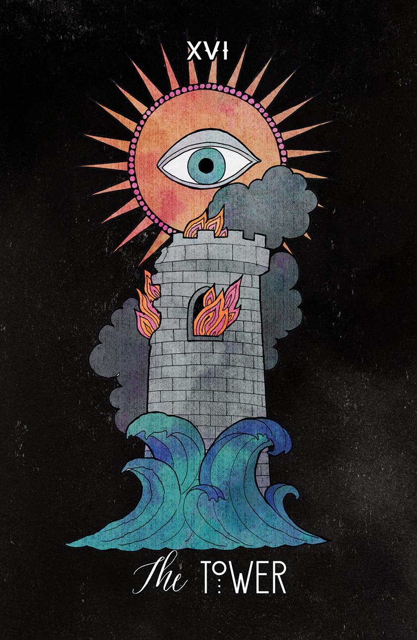 Inspirational Tarot The Tower
