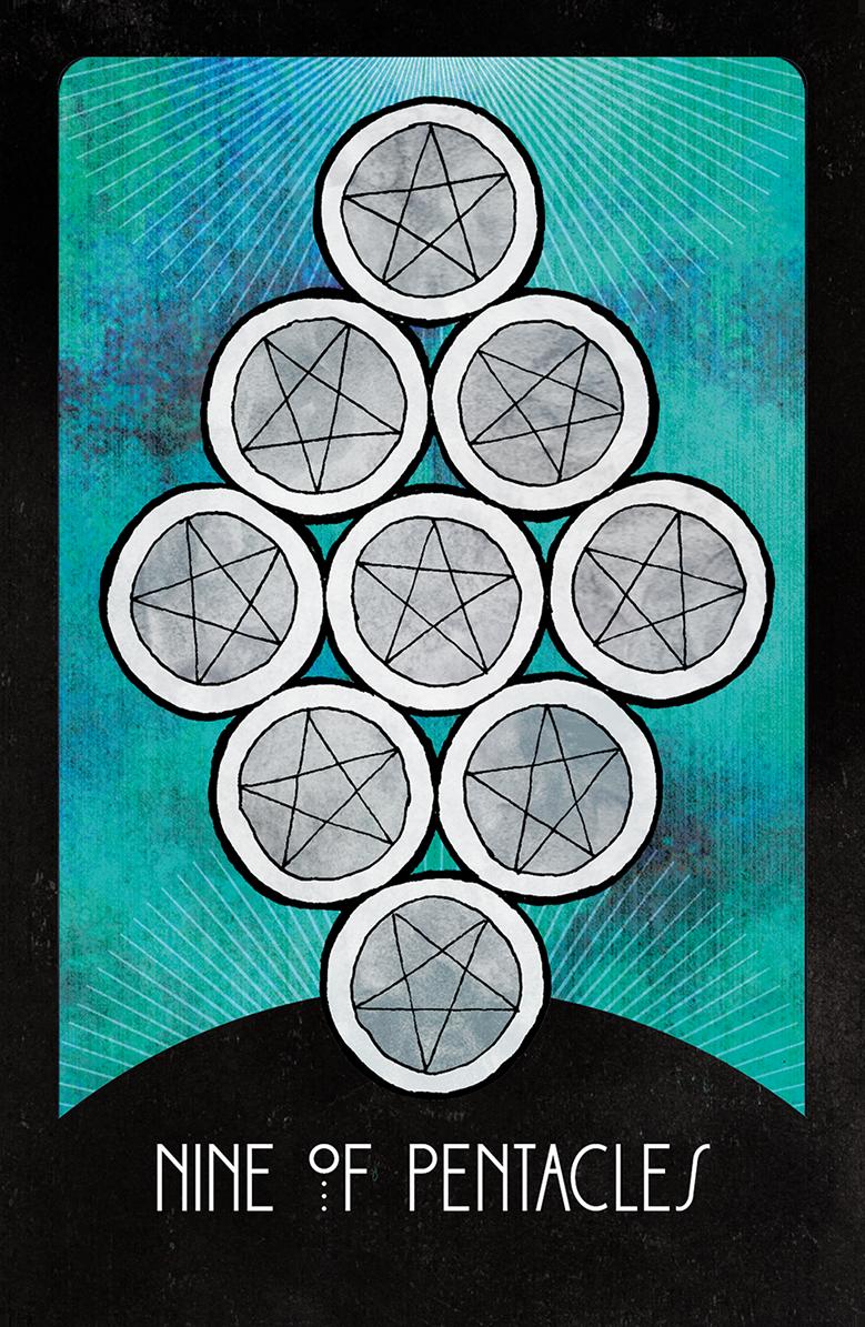 Nine of Pentacles